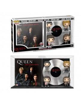 Queen POP! Albums Vinyl Figure 4-Pack Greatest Hits 9 cm