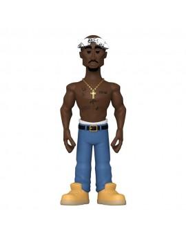Tupac Vinyl Gold Figure Tupac 13 cm