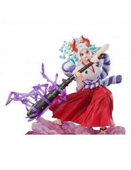 One Piece FiguartsZERO PVC Statue Extra Battle Yamato (Raimei Hakke) 16 cm