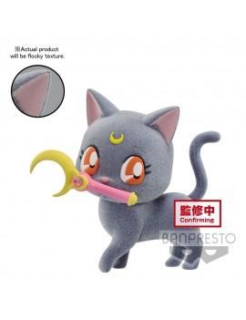 Sailor Moon Eternal Fluffy Puffy Mini Figure Luna Ver. A 7 cm