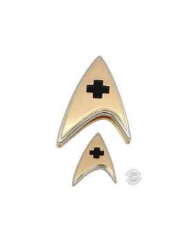 Star Trek Discovery Enterprise Badge & Pin Set Medical