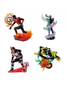 Kamen Rider Petitrama Series Trading Figure 8 cm Legend Rider Memories Assortment (4)