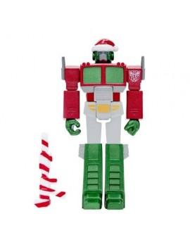 Transformers ReAction Action Figure Optimus Santa 10 cm