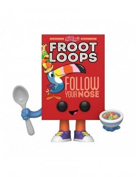 Kellogg's POP! Vinyl Figure Froot Loops Cereal Box 9 cm
