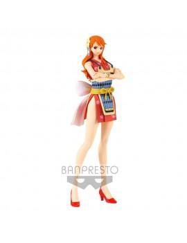 One Piece Glitter & Glamours PVC Statue Nami Wanokuni Style II Ver. A 25 cm