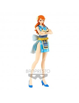 One Piece Glitter & Glamours PVC Statue Nami Wanokuni Style II Ver. B 25 cm