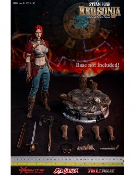 Red Sonja Action Figure 1/6 Steampunk Red Sonja Classic Version 29 cm