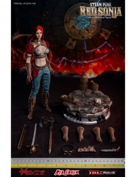 Red Sonja Action Figure 1/6 Steampunk Red Sonja Deluxe Version 29 cm