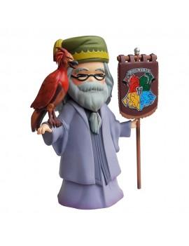 Harry Potter Statue Dumbledore & Fumseck 15 cm