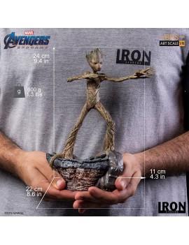 Avengers: Endgame BDS Art Scale Statue 1/10 Groot 24 cm