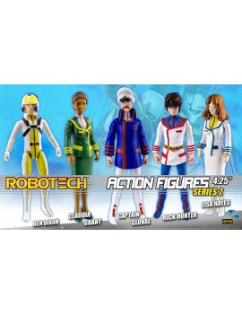 Robotech Action Figures 11 cm Assortment Series 2 (20)
