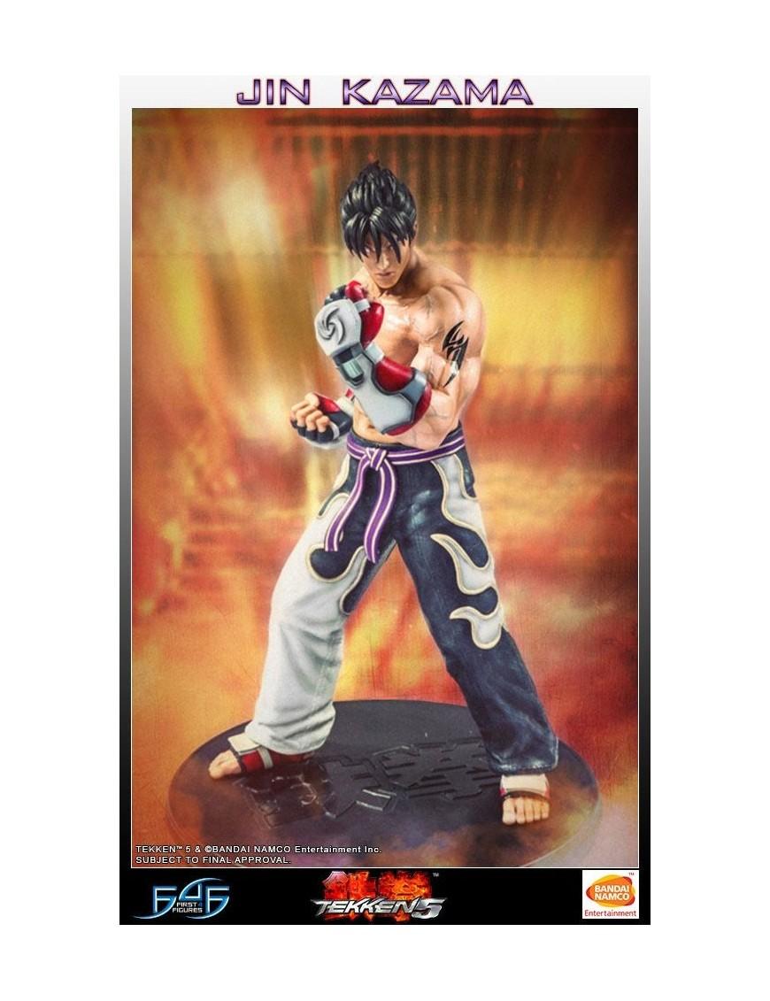 Tekken 5 Statue 1/4 Jin Kazama 48 cm