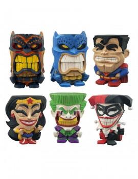 DC Comics Teekeez Vinyl Figures Series 1 Display 8 cm (12)