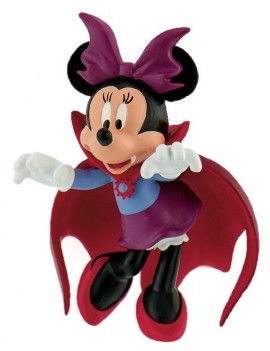Disney Mickey Mouse & Friends Figure Minnie Halloween 7 cm