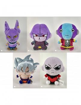 Dragonball Super Plush Figures 15 cm Series 2 Display (6)