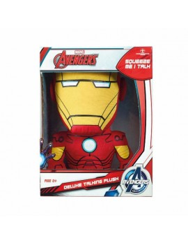 Marvel Deluxe Talking Plush Figure Iron Man 38 cm *English Version*