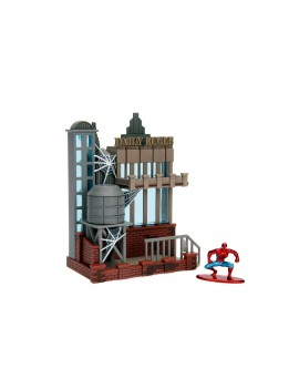 Marvel Spider-Man Nano Metalfigs Nano Scene Daily Bugle