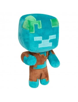 Minecraft Happy Explorer Plush Figure Drowned 18 cm
