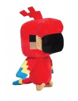 Minecraft Happy Explorer Plush Figure Parrot 18 cm