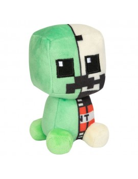 Minecraft Mini Crafter Plush Figure Creeper Anatomy 11 cm