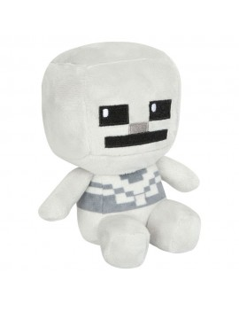 Minecraft Mini Crafter Plush Figure Skeleton 11 cm