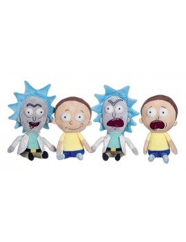 Rick and Morty Plush Figures 25 cm Assortment (4)