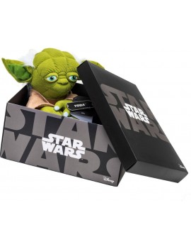 Star Wars Black Line Plush Figure Yoda 25 cm