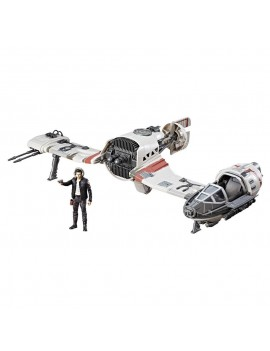Star Wars Episode VIII Force Link Class C Vehicle with Figure 2017 Resistance Ski Speeder