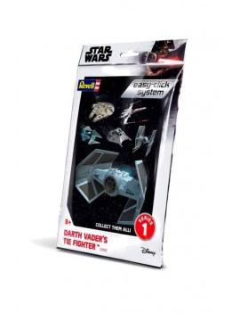 Star Wars Level 2 Easy-Click Snap Model Kit Series 1 Darth Vader TIE Fighter