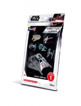 Star Wars Level 2 Easy-Click Snap Model Kit Series 1 Snowspeeder