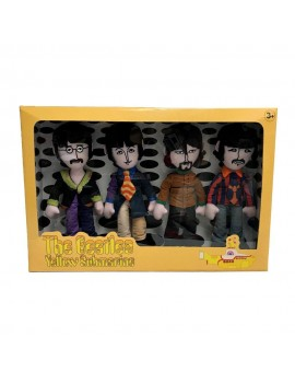 The Beatles Plush Figure 4-Pack Yellow Submarine Band Members 23 cm