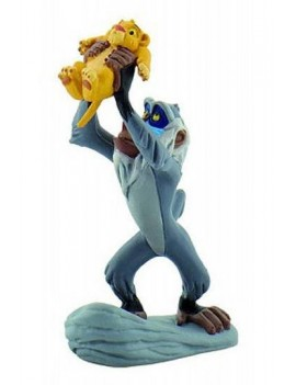 The Lion King Figure Rafiki with Simba 10 cm