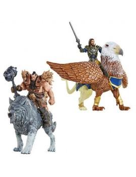 Warcraft Figures 4-Pack Battle In A Box 6 cm Case (4)
