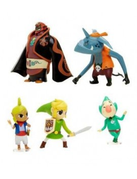 World of Nintendo Mini Figure 5-Pack Zelda Wind Waker 6 cm
