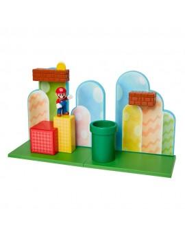 World of Nintendo Super Mario Playset Acorn Plains