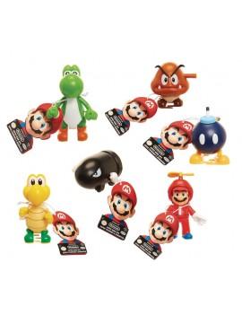 World of Nintendo Super Mario Wind-Up Figures 6 cm Display (12)