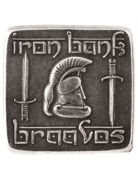 A Song of Ice and Fire Coin Braavosi Iron Square