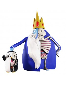 Adventure Time XXRAY PLUS Figures 2-Pack Ice King & Gunter 11-21 cm