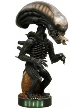 Alien Head Knocker Bobble-Head Alien Warrior 18 cm