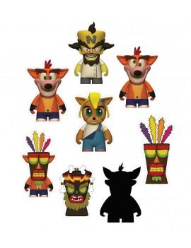 Crash Bandicoot Vinyl Mini Figures 8 cm Display (24)