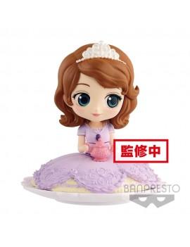 Disney Q Posket SUGIRLY Mini Figure Sofia Milky Color Ver. 9 cm