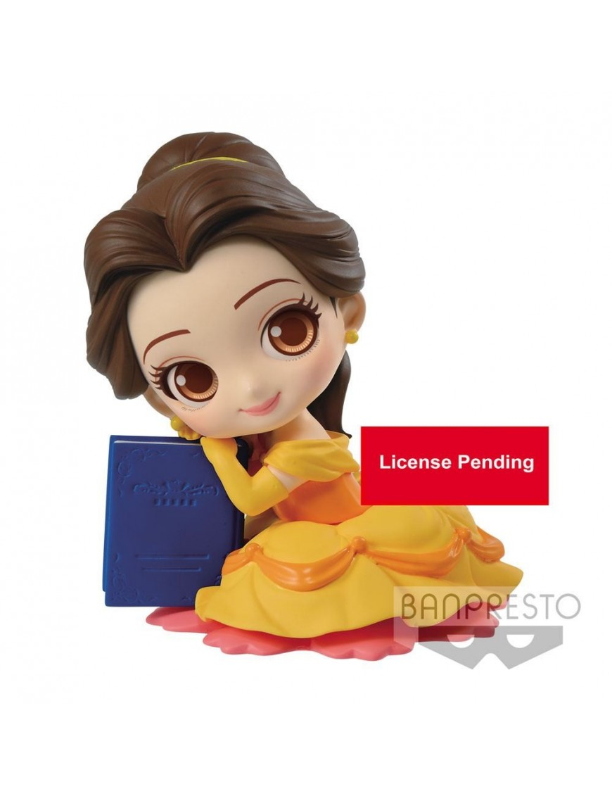 Disney Q Posket Sweetiny Mini Figure Belle Ver. A 10 cm