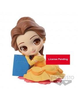 Disney Q Posket Sweetiny Mini Figure Belle Ver. B 10 cm