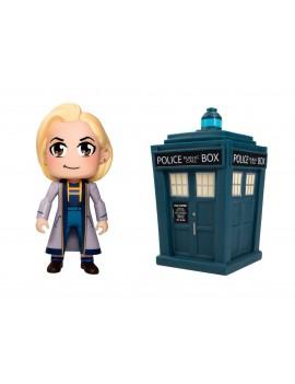 Doctor Who Titans Vinyl Figure 2-Pack 13th Doctor Kawaii & Tardis 8 cm