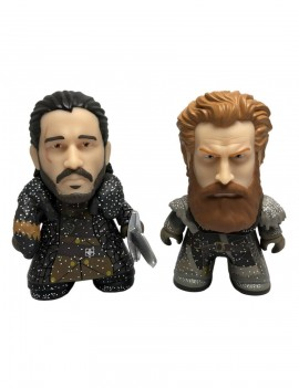 Game of Thrones Titans Vinyl Figure 2-pack Jon Snow & Tormund Giantsbane NYCC 2018 Exclusive 8 cm