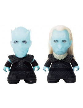 Game of Thrones Titans Vinyl Figure 2-pack Night King & White Walker NYCC 2017 Exclusive 8 cm