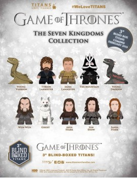 Game of Thrones Trading Figure The Seven Kingdoms Collection Titans Display 8 cm (18)