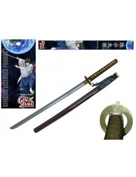 Gintama Foam Sword with Wooden Handle Katsura Kotaro 99 cm
