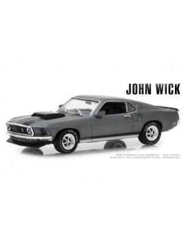 John Wick Diecast Model 1/43 1969 Ford Mustang BOSS 429