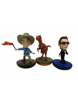 Jurassic Park REVOS Wobbling Vinyl Figures 10 cm Assortment (6)